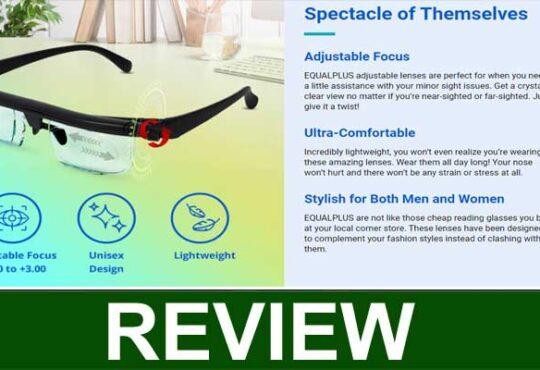 Equalplus Adjustable Glasses Review 2020