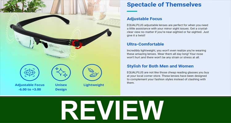 Equalplus Adjustable Glasses Review 2020