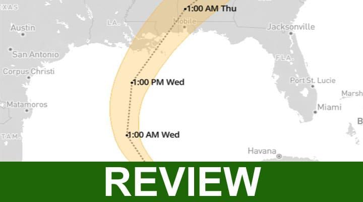 Latest Hurricane Zeta Track 2020