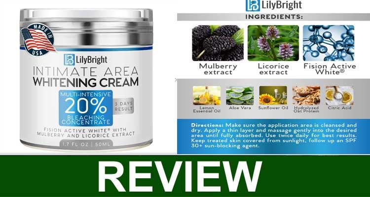 Lily Skin Whitening Cream Reviews 2020
