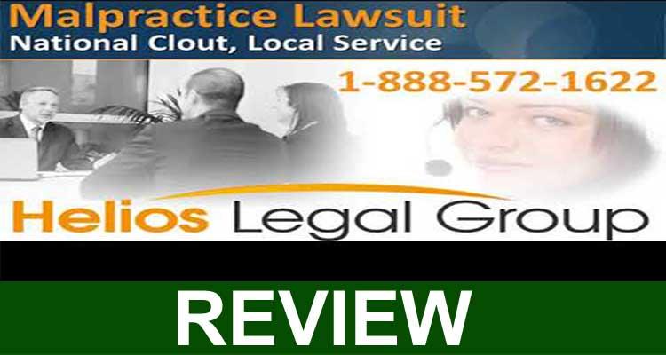 Malpractice Helios Legal Group 2020