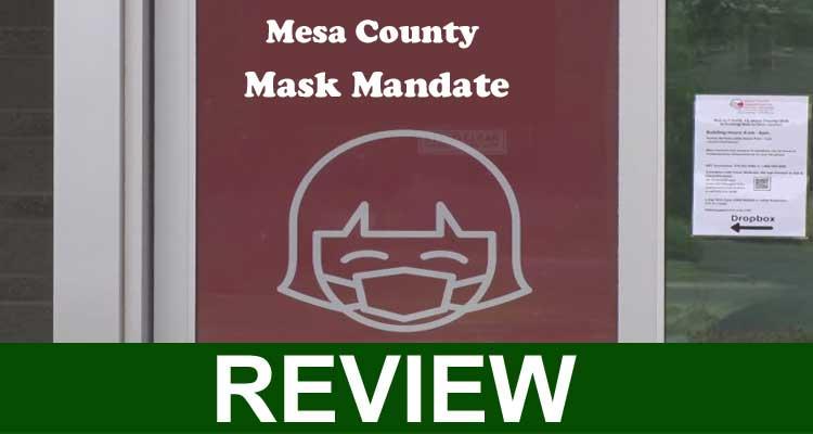 Mesa County Mask Mandate 2020