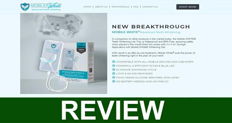 Mobile White Teeth Whitening Reviews 2020