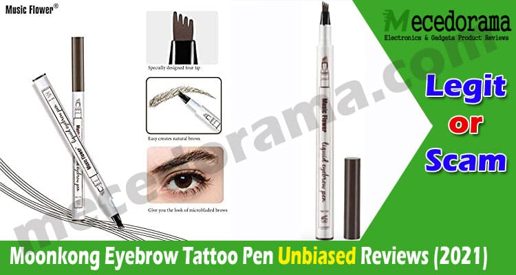 Moonkong Eyebrow Tattoo Pen Reviews 2021..