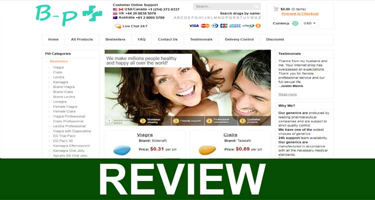 Online Pharmacy Baikal Pharmacy Ltd 2020