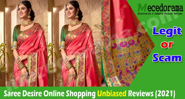 Saree Desire Online Shopping (Nov) Is It Genuine Or Scam