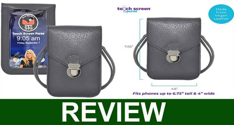 Touch Screen Purse as Seen on TV 2020