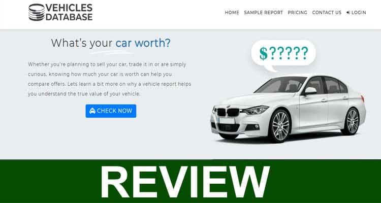 Vehiclesdatabase.com Scam 2020