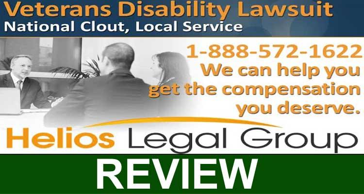 Veterans Disability Helios Legal Group 2020