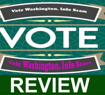 Vote Washington. Info Scam 2020
