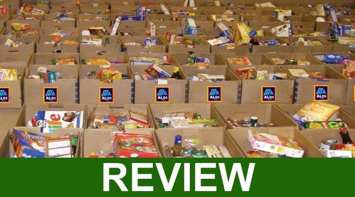 Aldi Scam Food Box 2020