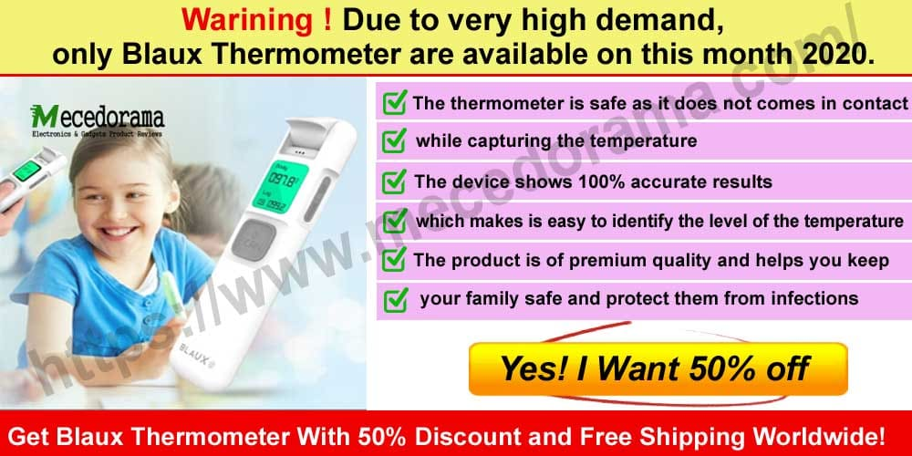 Blaux Thermometer Review 2020