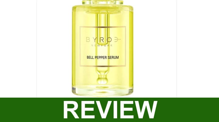Byroe Bell Pepper Serum Reviews 2020