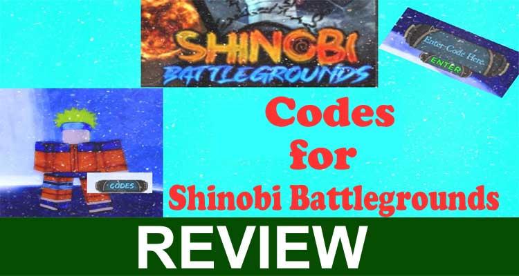 Codes For Shinobi Battlegrounds 2020