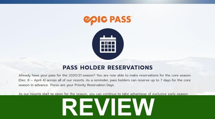 Epicpass com Reservations 2020