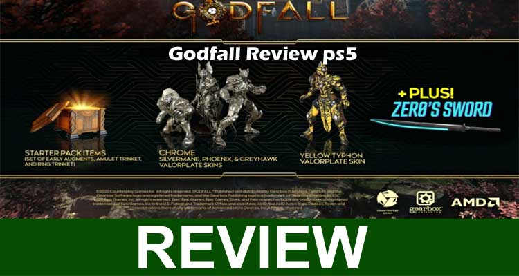 Godfall Review ps5 2020