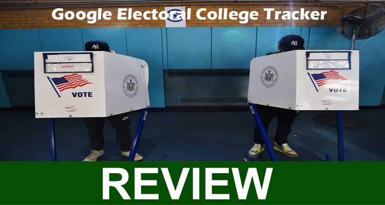 Google Electoral College Tracker 2020