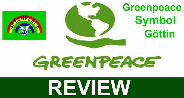 Greenpeace Symbol Göttin 2020