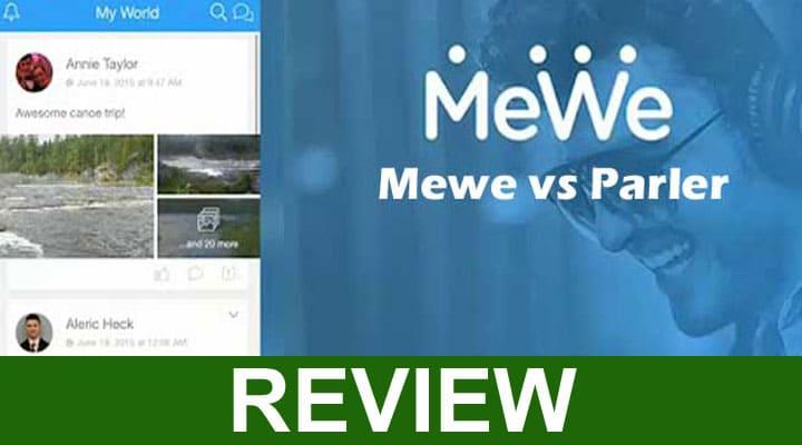 MeWe vs Parler 2020