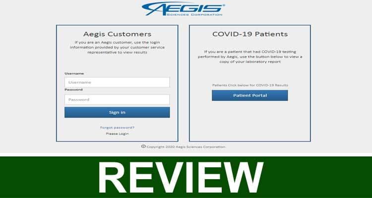Patient portal.aegislabs. com