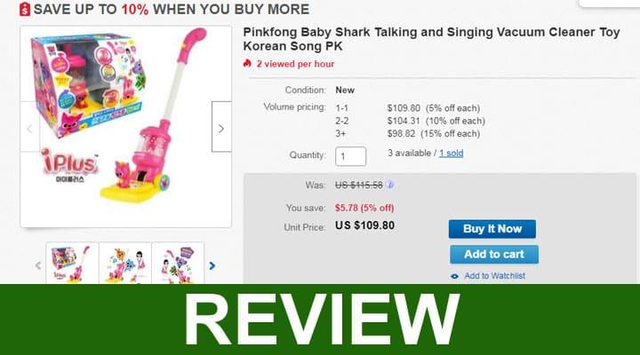 Pinkfong Baby Shark Vacuum Reviews 2020