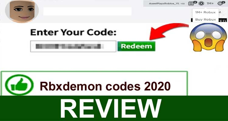 Rbxdemon Codes 2020