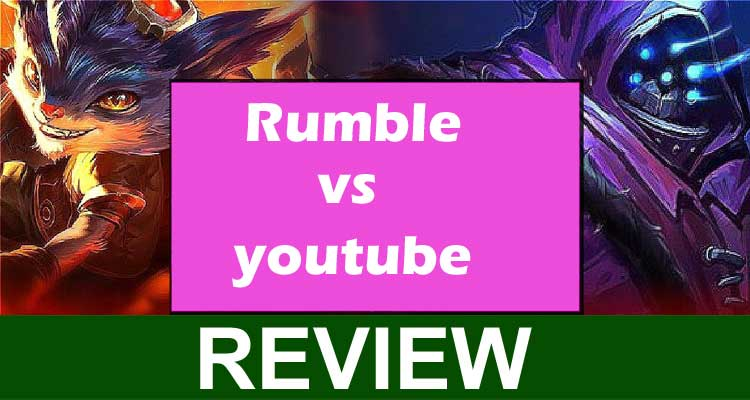 Rumble vs YouTube 2020