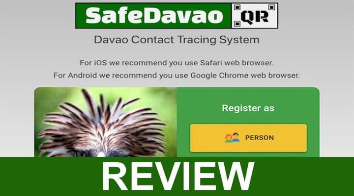 Safe Davao Qr Davao City Com Registration 2020