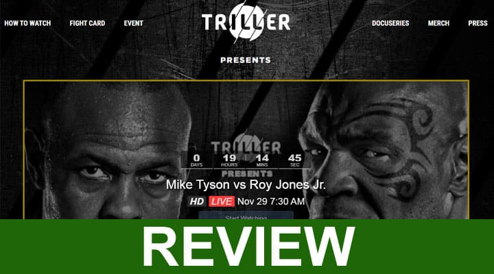 Tyson On Thriller.Com 2020