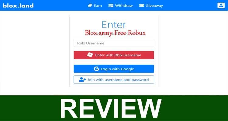 Blox.army Free Robux 2020