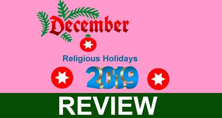 December Religious Holidays 2019