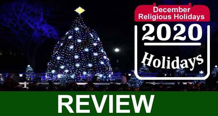 December Religious Holidays 2020