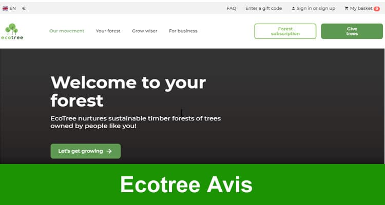 Ecotree Avis 2020