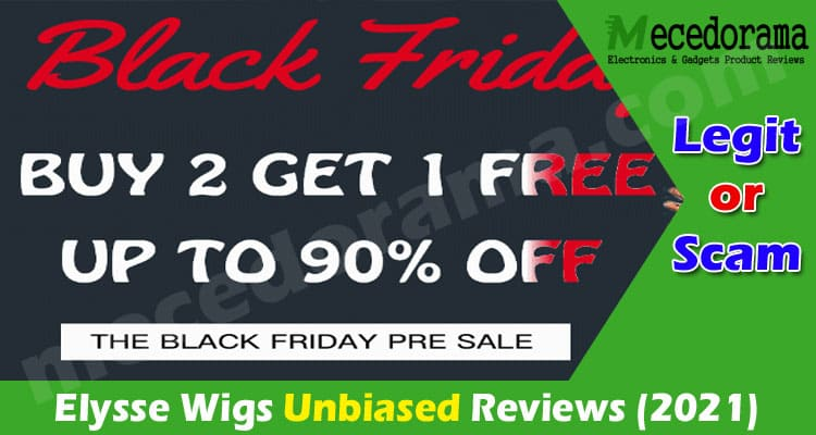 Elysse Wigs Reviews [Jan] Is This Offer Scam Deals