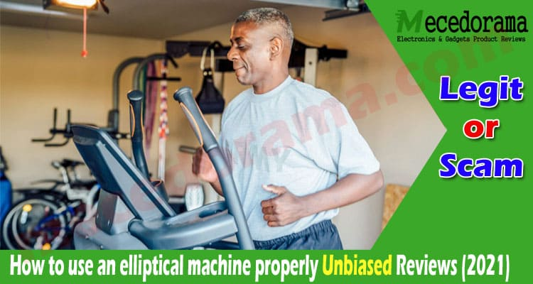 How to use an elliptical machine properly