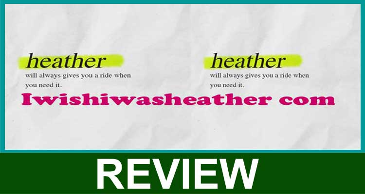 Iwishiwasheather Com 2020