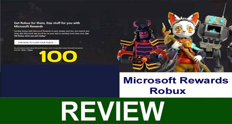 Microsoft Rewards Robux 2020