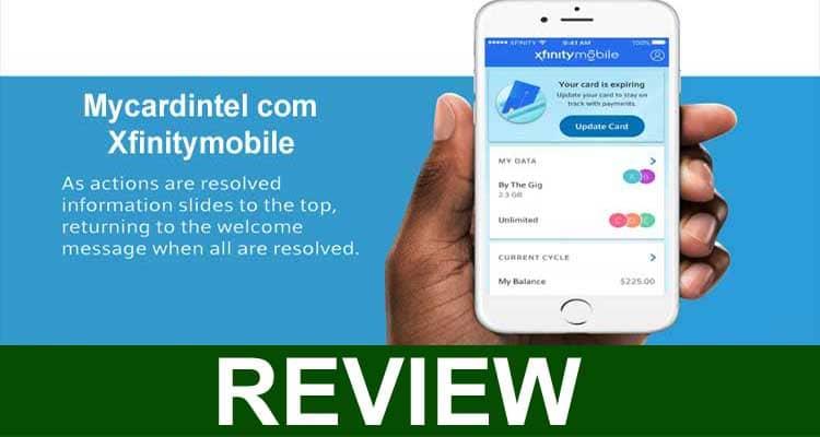 Mycardintel com Xfinitymobile 2020