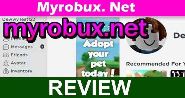 Myrobux. Net 2020