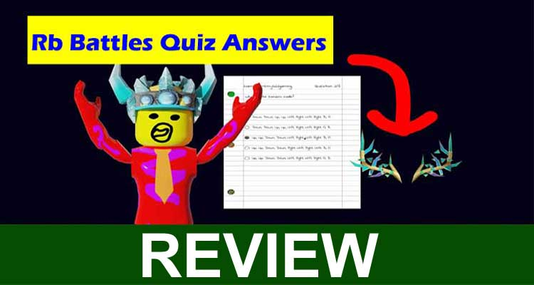 Rb Battles Quiz Answers 2020