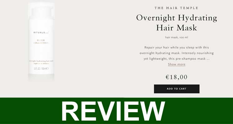 Rituals Overnight Hair Mask Review 2020