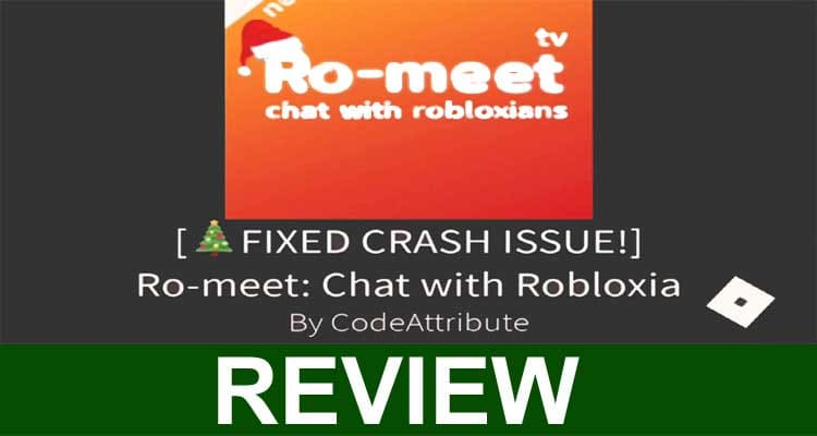 Ro-Meet Chat With Robloxians 2020