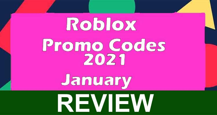 Roblox Promo Codes 2021 January (Dec) Check It Out