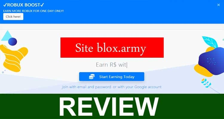 Site Blox.army 2020