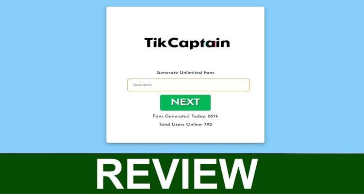 Tikcaptain. com 2020