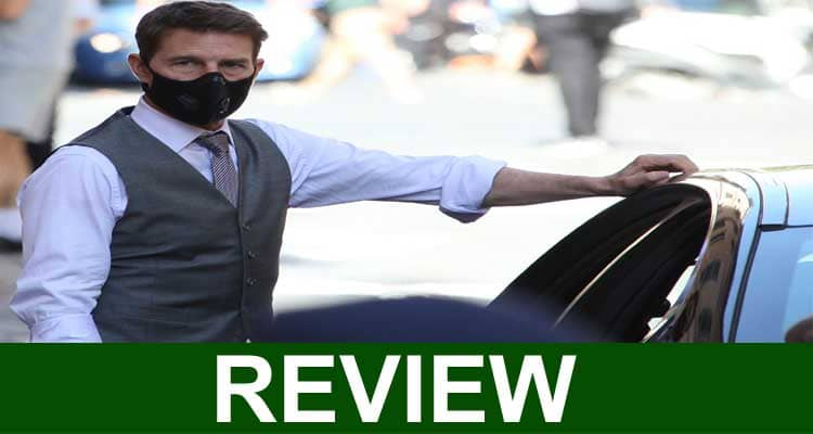 Tom Cruise COVID Face Mask Review 20220