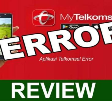 Aplikasi Telkomsel Error 2021