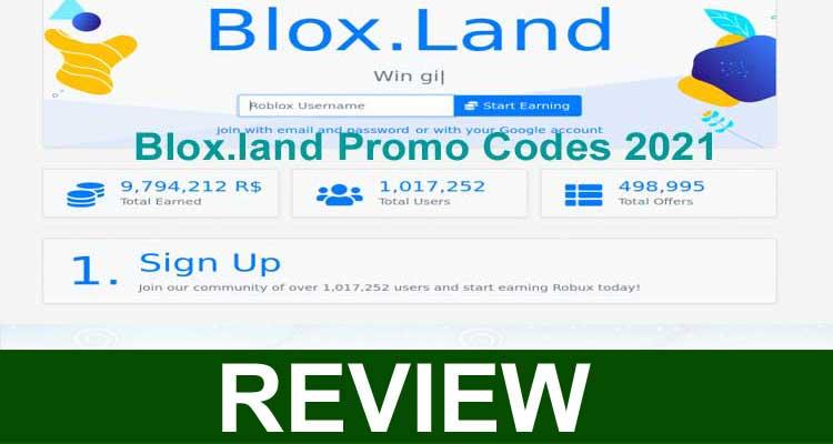 Blox.land Promo Codes 2021