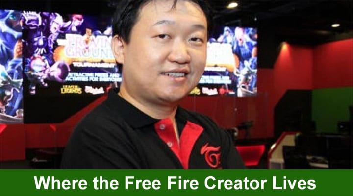 Donde Vive El Creador de Free Fire 2021