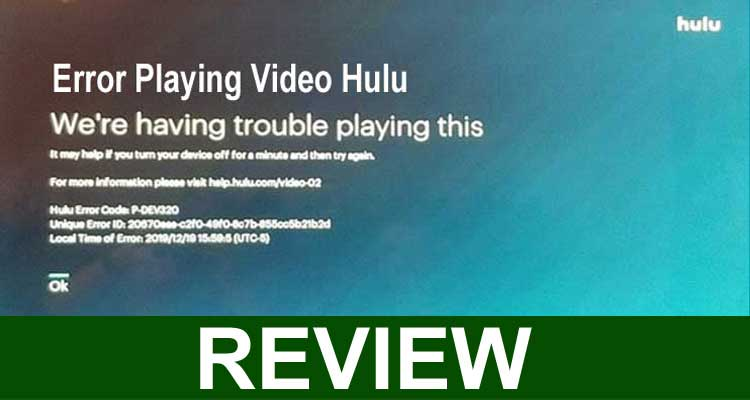 Error Playing Video Hulu 2021